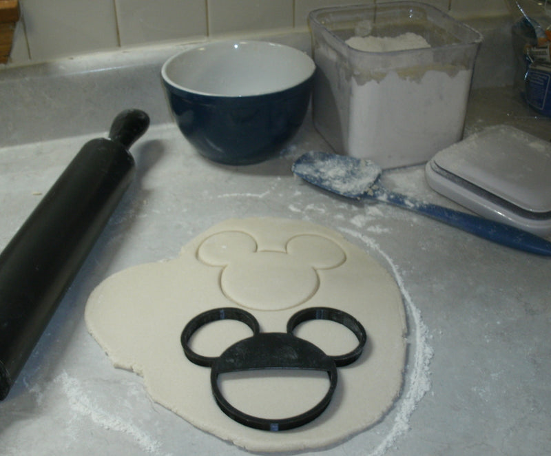 Mickey Mouse Head Cartoon Disney Character Special Occasion Cookie Cutter Baking Tool Made In USA PR528