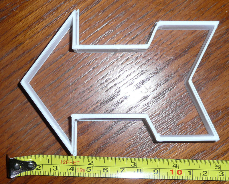 Arrow Cookie Cutter Baking Tool Special Occasion Made In USA PR285