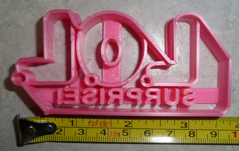Little Outrageous Littles Surprise Doll Series Logo Cookie Cutter USA PR2507