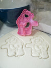 Lotso Toy Story Hugging Bear Cartoon Disney Pixar Movie Character Special Occasion Cookie Cutter Baking Tool Made In USA PR509
