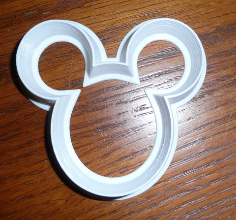 "Minnie Mouse Silhouette Disney Character Special Occasion Fondant Stamp Cutter or Cupcake Topper Size 1.75"" Made in USA FD817"