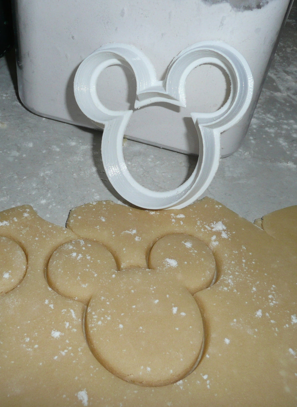 Mickey Mouse Disney Cookie Cutter Baking Tool Special Occasion Made In USA PR307