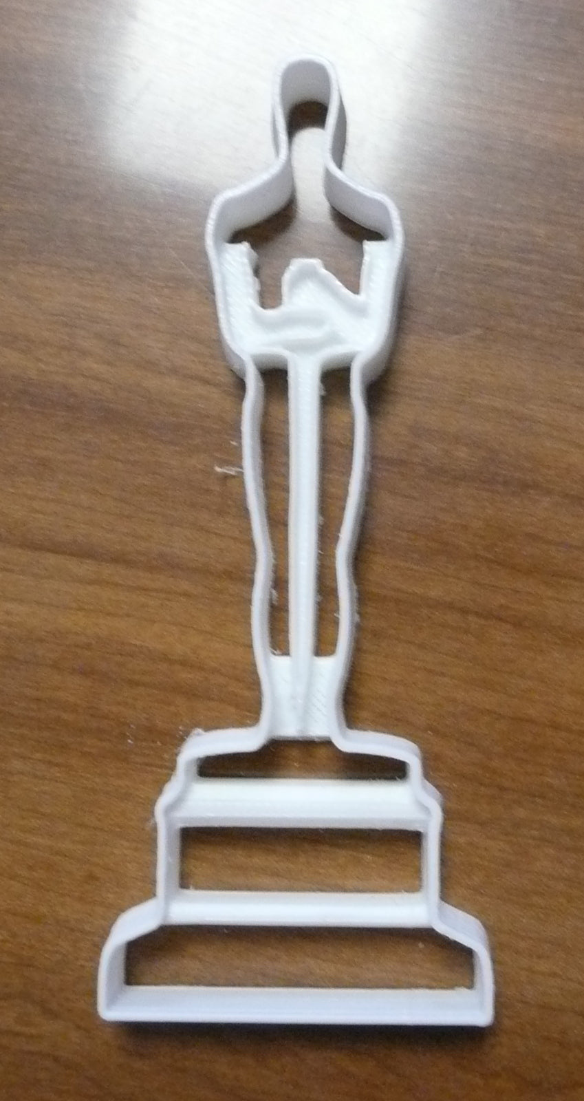 Oscar Academy Award Statue Film Motion Picture Red Carpet Special Occasion Cookie Cutter Baking Tool Made in USA PR453