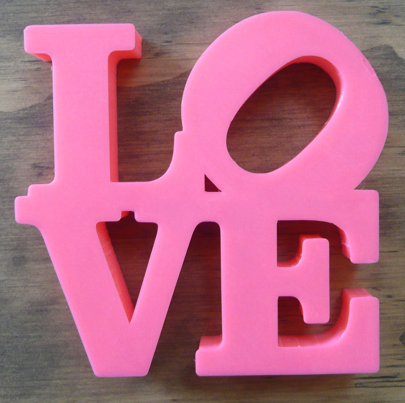 Love Sign Home Office Decor Wall Art Sculpture Statue Model Indiana 3D Printed PR27