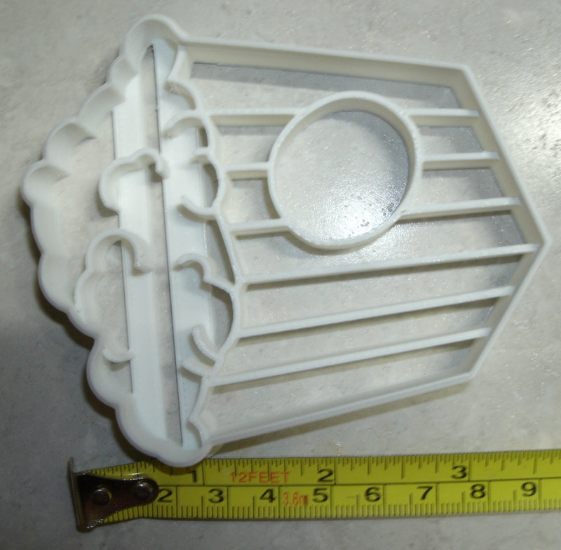 Popcorn Movie Cinema Film Screening Carnival Snack Food Cookie Cutter USA PR2527