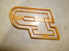 Purdue Boilermakers P Logo Football Basketball NCAA D1 Athletics Special Occasion Cookie Cutter Baking Tool Made In USA PR2216