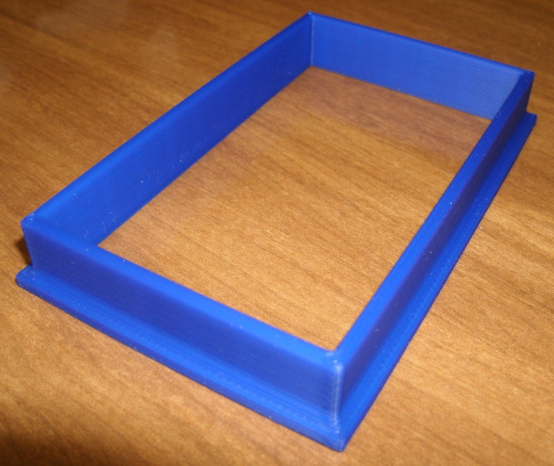 Rectangle Box Frame Shape Special Occasion Cookie Cutter Baking Tool Made in USA PR696