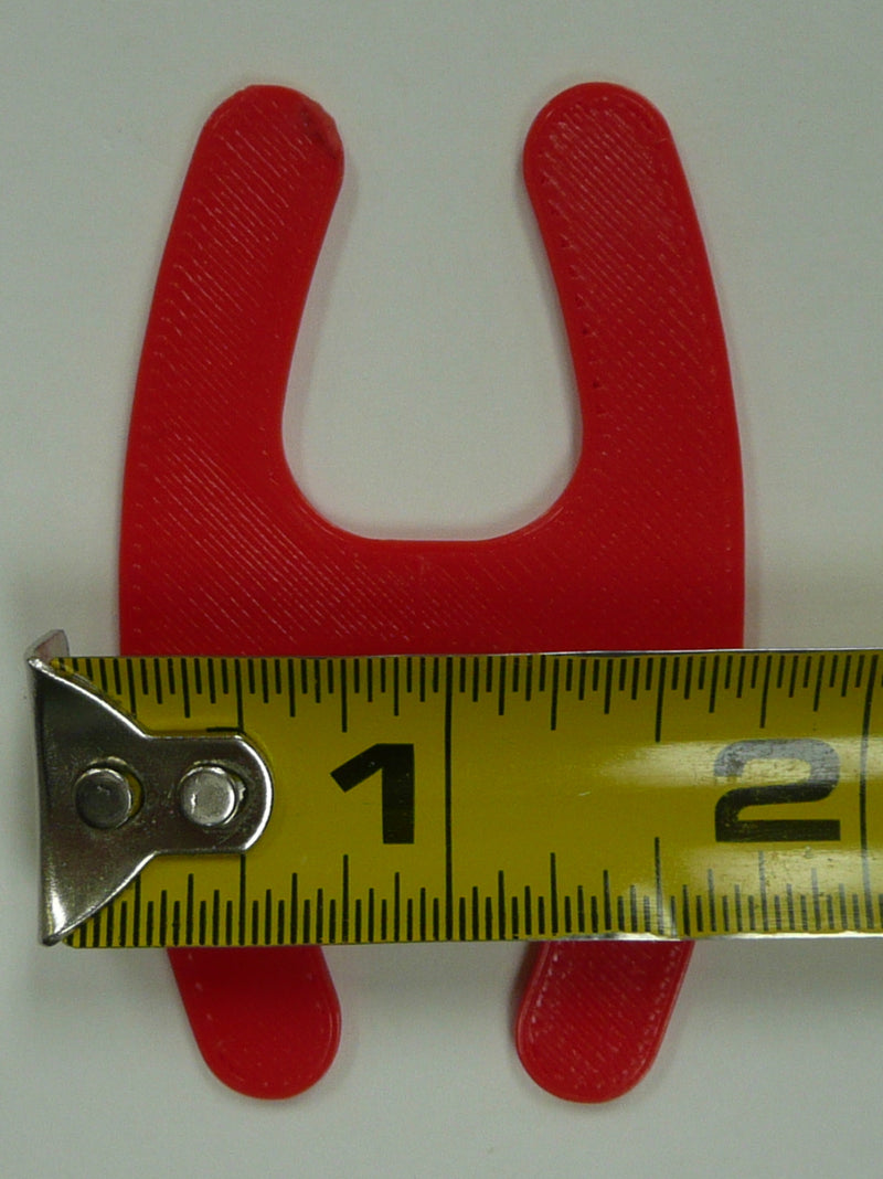 3 Pieces H Shape Bra Strap Clip Converter Racer Back 3 Colors Made In USA PR31