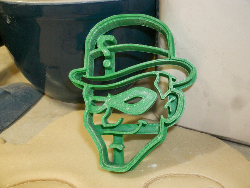 Riddler Batman Rival DC Comics Gotham Super Villain Special Occasion Cookie Cutter Baking Tool Made In USA PR2028