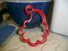 Ho Ho H O Santa Poinsettia Christmas Holiday Set Of 4 Cookie Cutters USA PR1189