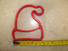 Santa Stocking Hat Christmas Winter Season Special Occasion Cookie Cutter Baking Tool Made In USA PR272