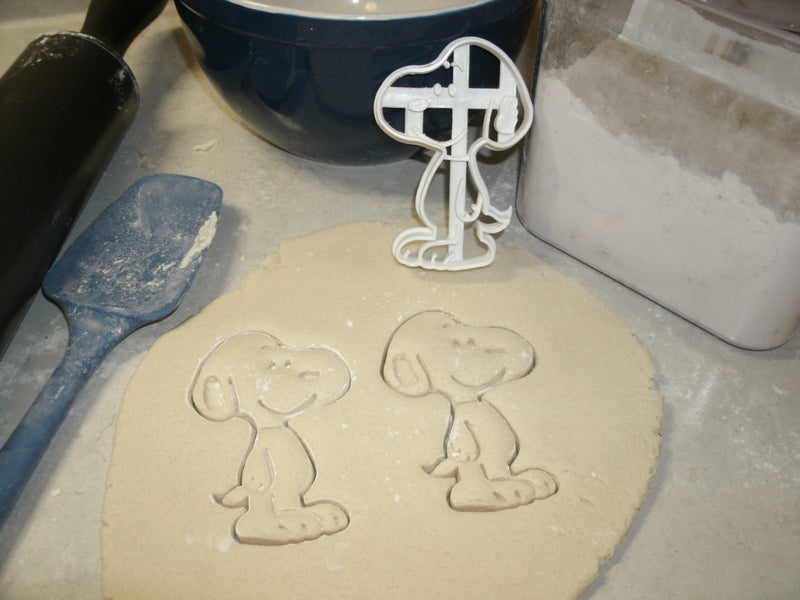 Snoopy Pet Beagle Peanuts Cartoon Character Special Occasion Cookie Cutter Baking Tool Made in USA PR615