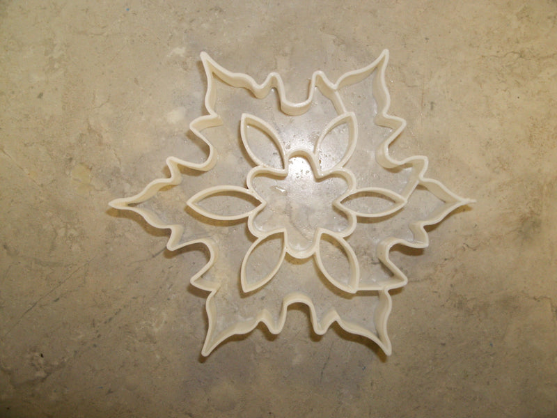 Snowflake With Details Christmas Snow Winter Season Special Occasion Cookie Cutter Baking Tool Made In USA PR179