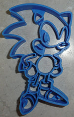 Sonic The Hedgehog Fast Character Game Adventure Film Cookie Cutter USA PR2468
