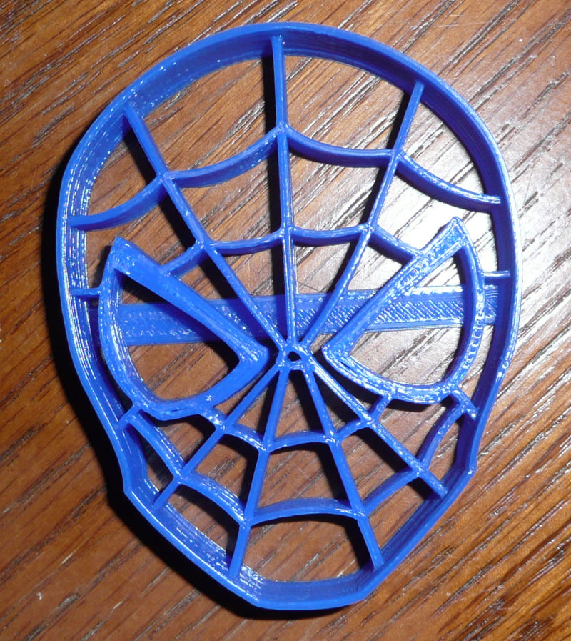 Spider-Man Mask Marvel Superhero Special Occasion Cookie Cutter Baking Tool Made in USA PR321