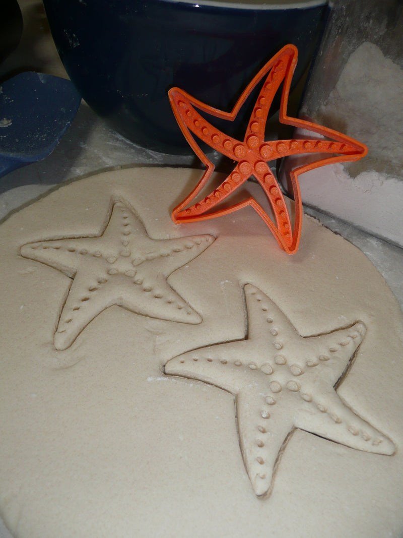 Starfish Star Fish Sea Ocean Nautical Marine Beach Luau Cookie Cutter USA PR2597