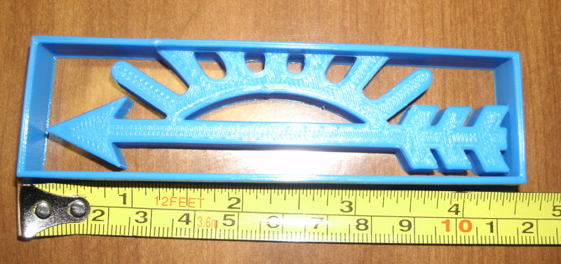 Arrow Of Light Cub Scout Sunset Symbol Special Occasion Cookie Cutter Baking Tool Made in USA PR604