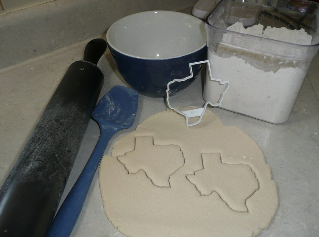 State of Texas Outline Lone Star South Central Region Cookie Cutter USA PR2713