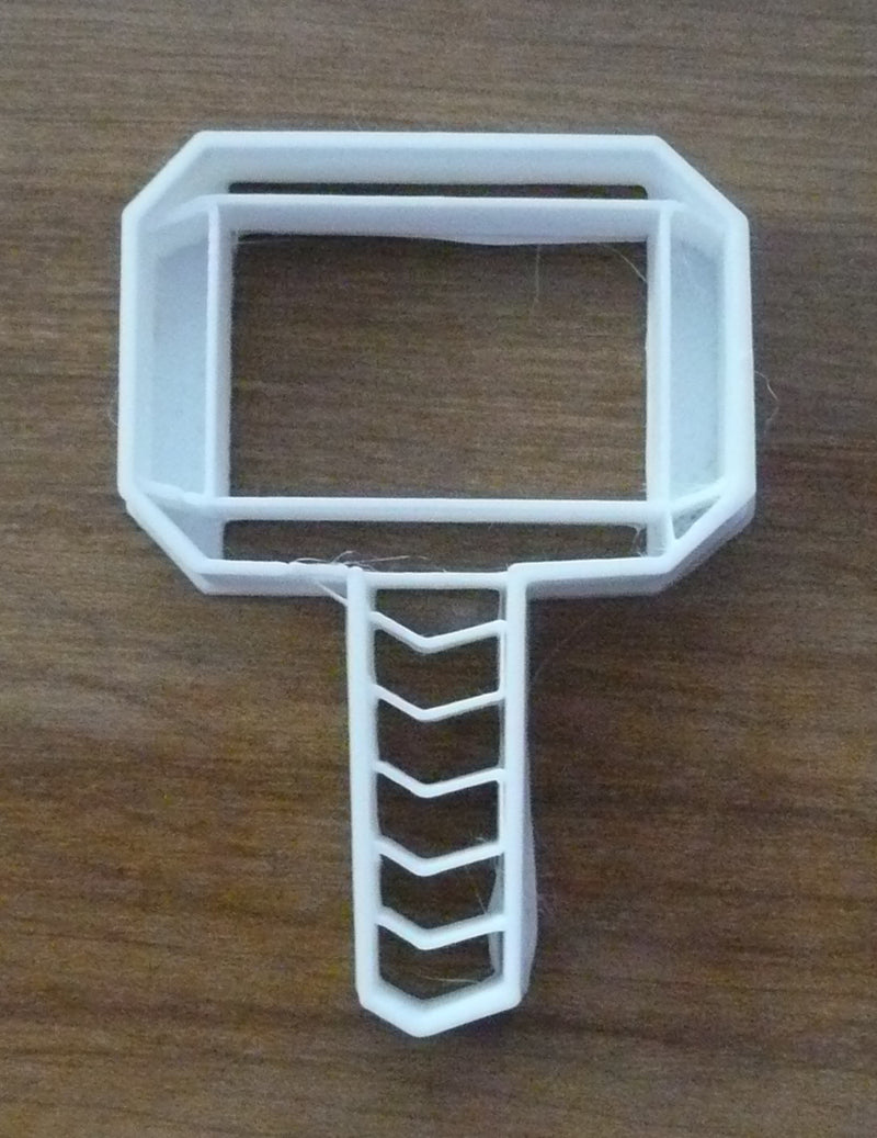Thor Hammer Superhero Marvel Special Occasion Cookie Cutter Baking Tool Made in USA PR465