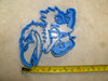 KU University of Kansas Jayhawks Logo NCAA D1 Special Occasion Cookie Cutter Baking Tool Made In USA PR2010