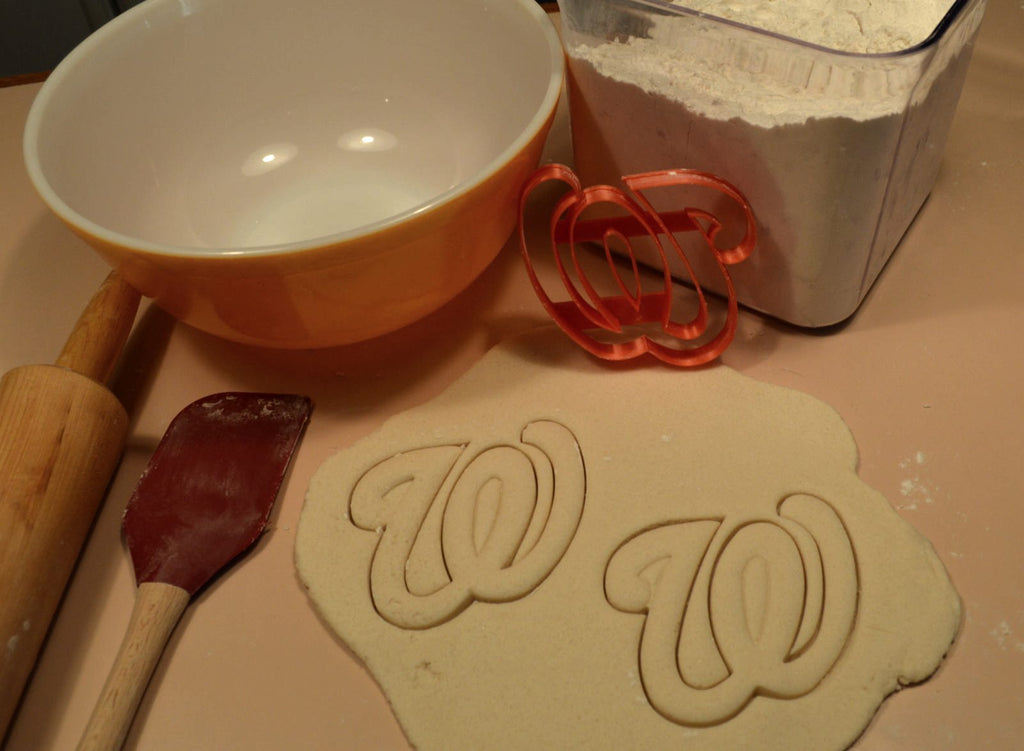 Washington Nationals W Letter MLB Major League Baseball Cookie Cutter USA PR2579