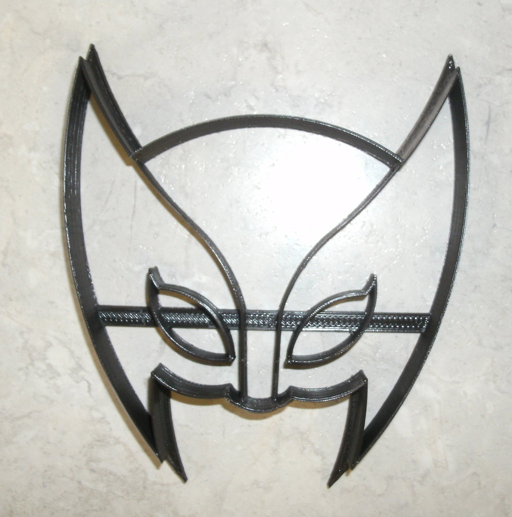 Wolverine Superhero Marvel Comic Movie Character X-Men Logan Special Occasion Cookie Cutter Baking Tool Made in USA PR492