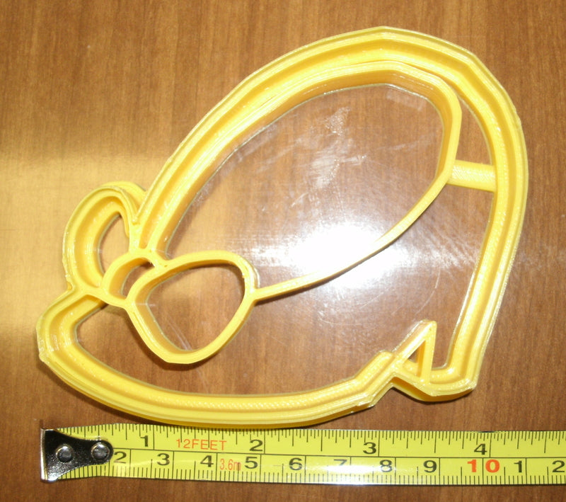 Minnie Mouse Shoe Heel Cartoon Disney Character Cookie Cutter Baking Tool Made In USA PR532