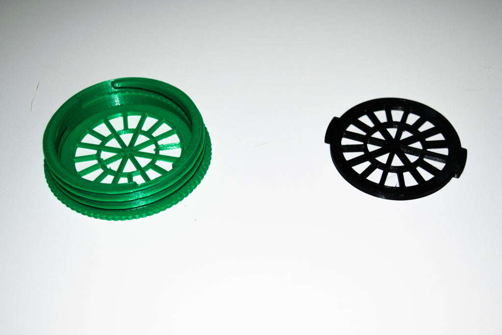 Filter Insert and Housing Cover for Face Mask ( GREEN ) USA PR3538