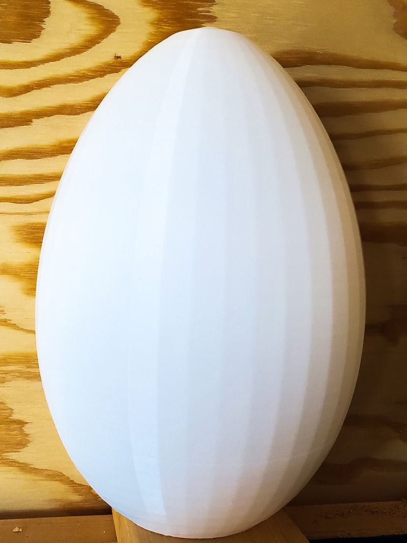 Large Hollow Egg Home Decor Paintable Easter Decoration 3D Printed USA PR3615