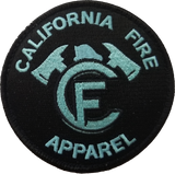 California Fire Apparel Velcro Patch