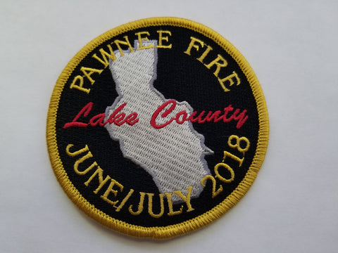 Pawnee Fire Patch