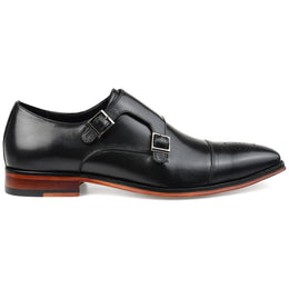 Thomas & Vine Men's Rockwell Double Monk Strap Shoe