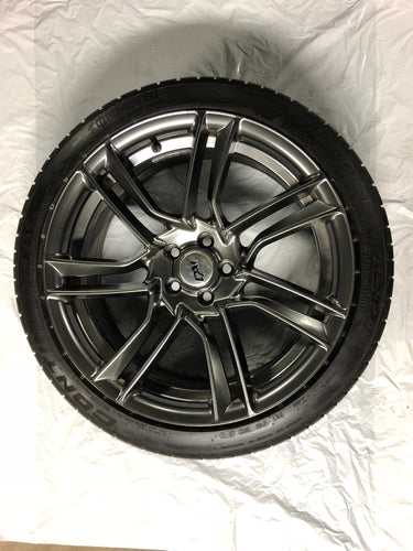 DAI ALLOY RIMS WITH TIRES