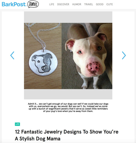BarkPost Stylish Dog Mama Jewelry