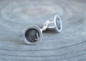 Contemporary Letter Cuff Links
