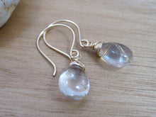 Golden Rutilated Quartz 14k Gold Fill Earrings