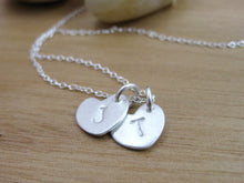 Mothers Recycled Silver Initial Necklace