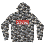 Saved 1 for printify short sleeve tee Camouflage Adult Hoodie