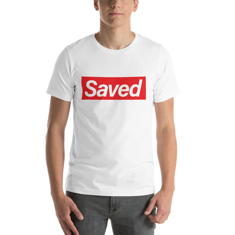 Saved Short-Sleeve Mens T-Shirt