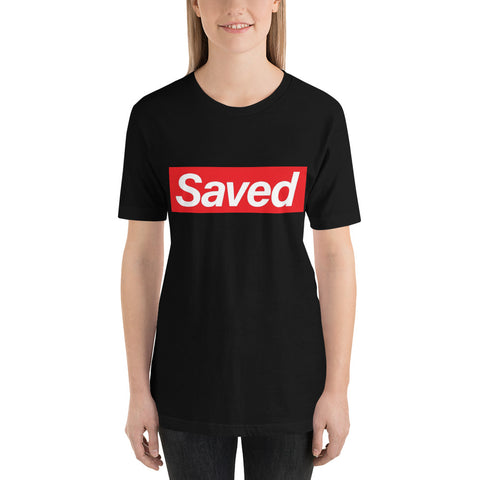 Saved Short-Sleeve Women's T-Shirt
