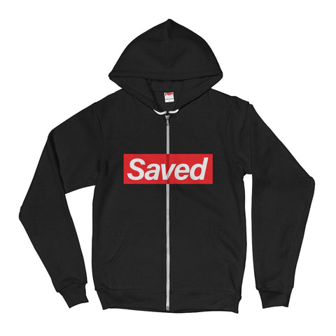 Saved Hoodie sweater w/ zipper