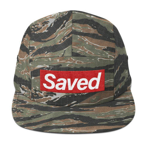 Saved- Five Panel Cap