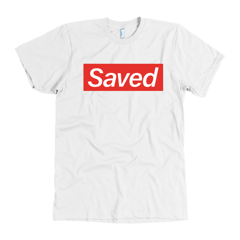 Blk and Red Saved Tshirt