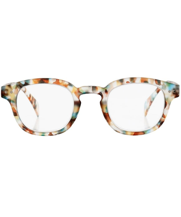 Izipizi blue tortoise reading glasses