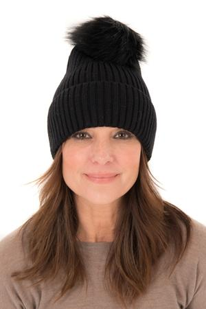 Franchetti Bond hat with pom