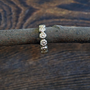 Daisy Stack Ring