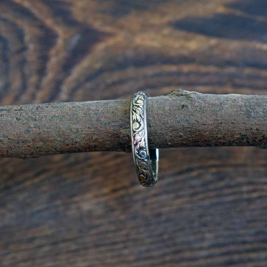 Diamond Edge Stack Ring