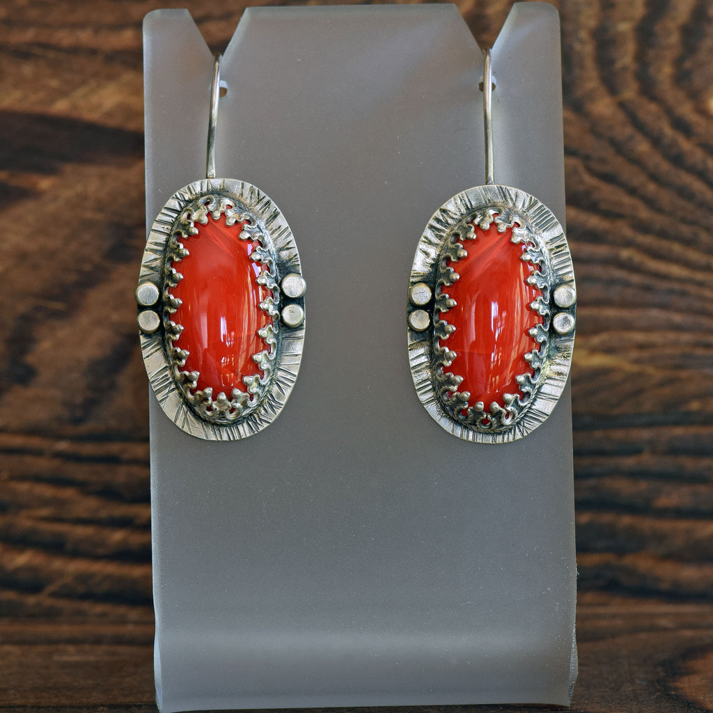 Rosarita Oval Earrings
