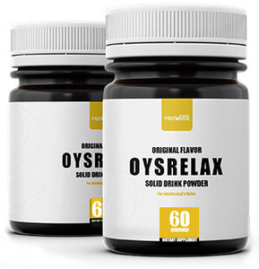Oysrelax - Original Solid Drink 200g/Bottle. Relieves stress*