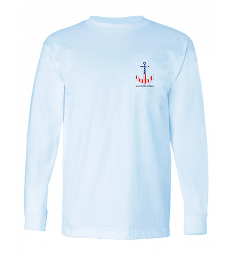 Anchor Flag Long Sleeve Tee